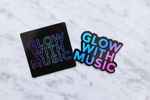 Glow With Music Sticker Bundle
