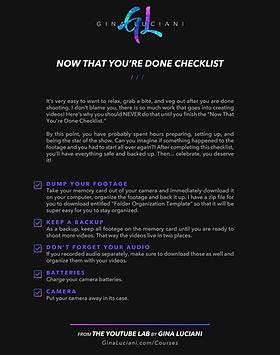 GL_Now That You're Done Checklist_Digita