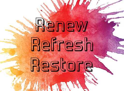 The Time for Renewal is Now