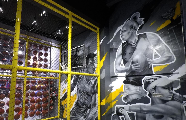Rebel Sport Half Court & Exterior