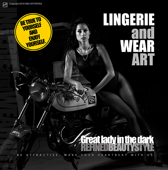 GREAT LADY IN THE DARK - YELLOW -