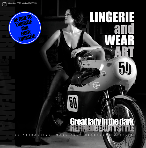GREAT LADY IN THE DARK - BLUE -