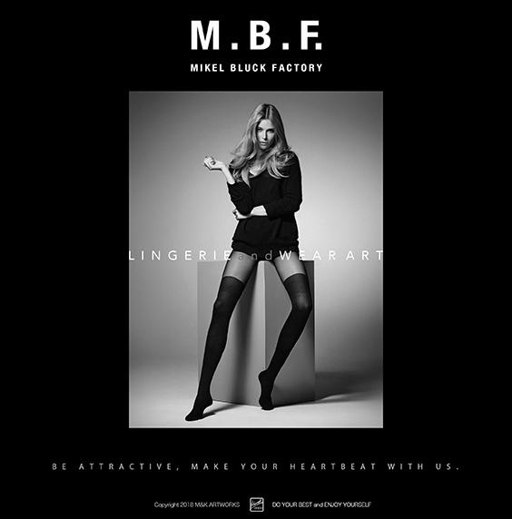 M.B.F. MIKEL BLUCK FACTORY Ver.2