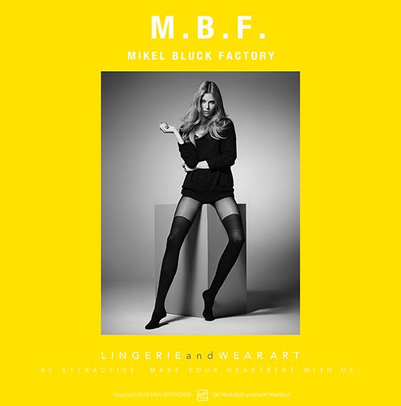 M.B.F. MIKEL BLUCK FACTORY Ver.1