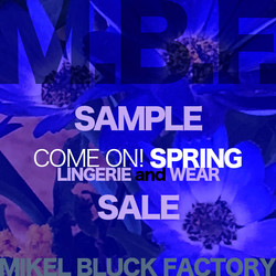 SAMPLE SALE COME ON! SPRING