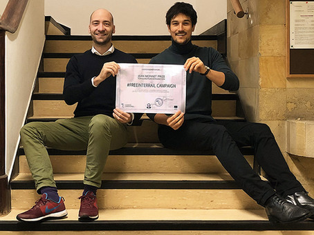 FreeInterrail wins 2018 Jean Monnet Prize for European Integration
