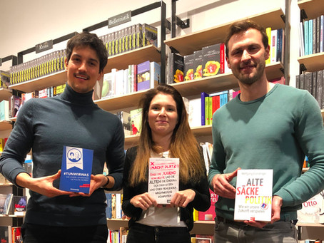 Book Discussion at Tucholsky Bookstore