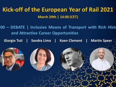 Auftakt des European Year of Rail