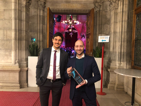 #FreeInterrail wins 2018 Innovation in Politics Award