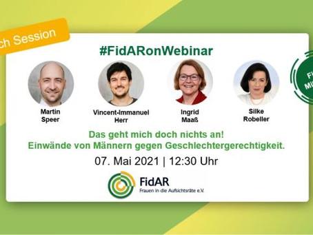 FidAR Vortrag zum Thema Männer & Geschlechtergerechtigkeit