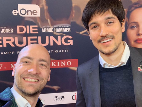 """Berlin-Premiere of """"On the Basis of Sex"""" at Kino International"""