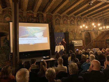 Speech on Europe in Göttingen
