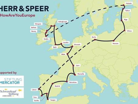 European Research Trip Begins