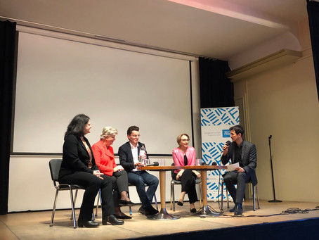 Panel with the French Embassy