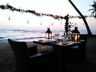 Intimate Beachside Dinner