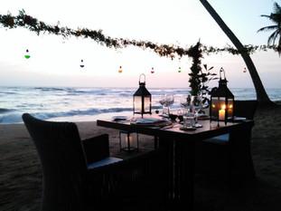 Intimate Beachside Dinner