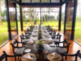 Elegant Cotemporary Ceylon Villa Dining Room