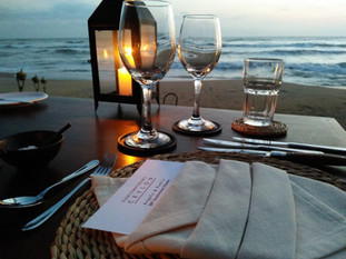 Romantic Beach Dining Experience