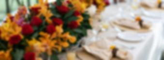 Tropical Wedding Set Up