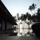 Pool at dawn