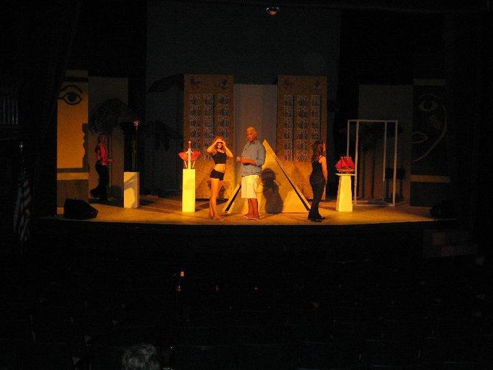 Aida Rehearsal