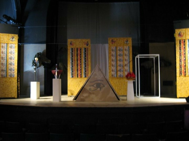 Aida Set Design by: Emily Perry