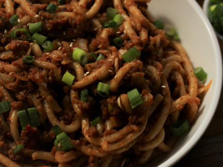 Takeout Style Udon Noodles