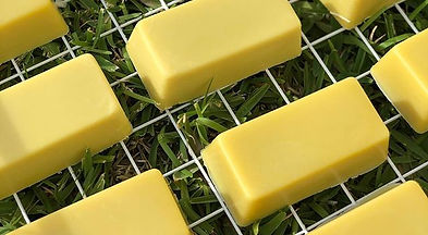 No these are not gold bullions they are beautiful new shea and cocoa butter soaps. Scented with sweet orange, litsea cubeba (lemoney) and patchouli. They are called CItrus Burst Butter Bars. Palm oil free and so moisturising as a soap.