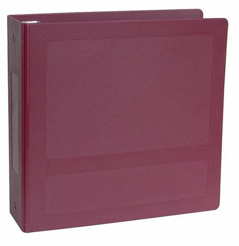 """Silver Infused Antimicrobial Binders (2"""" & 2.5"""" Sizes)"""