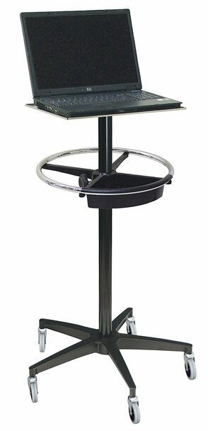Mobile Computer Monitor Stand