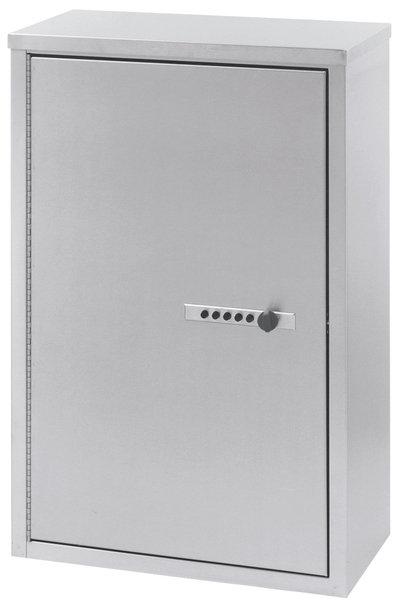 "Double Door Narcotic Cabinet W Combo Lock & 4 Shelves (24""�H X 16""�W X 8""�D)"