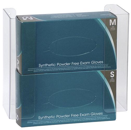 Double Clear Acrylic/PETG Glove Box Holder (305361-1)