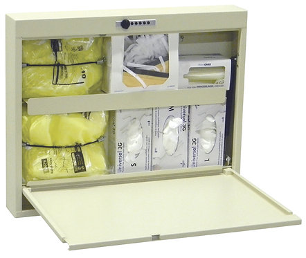 Isolation Wall Desk With Combo Lock