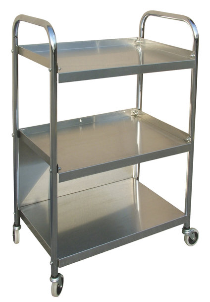 Mobile Stainless Steel Supply Cart