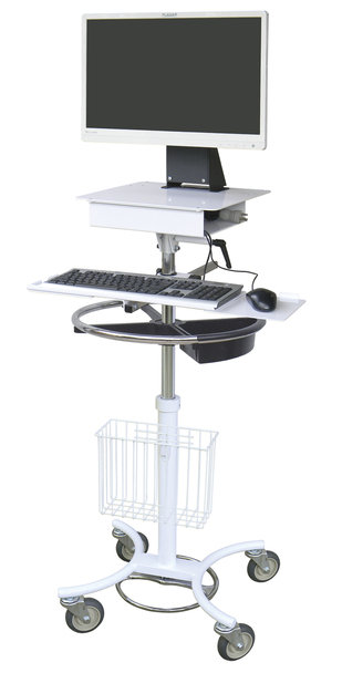 All-In-One Mobile EMS Computer Stand