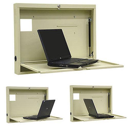 Turntable Laptop Wall Desk (291449)