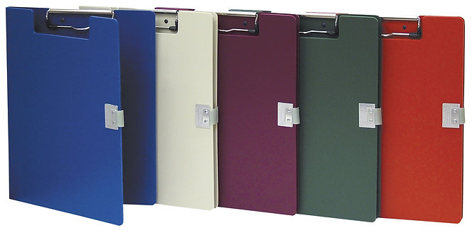 Covered Poly Clipboards (Multiple Color Options)