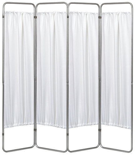 Economy 4 Section Folding Medical Privacy Screen
