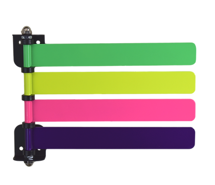 Exam Room Flags (New) High Visibility Neon Colors