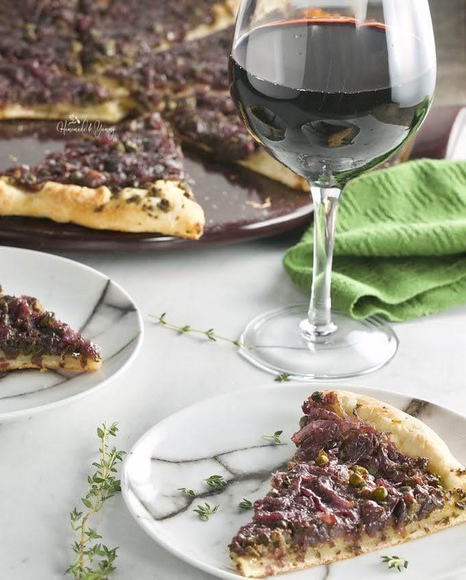 Olive Tapenade on Pissaladi