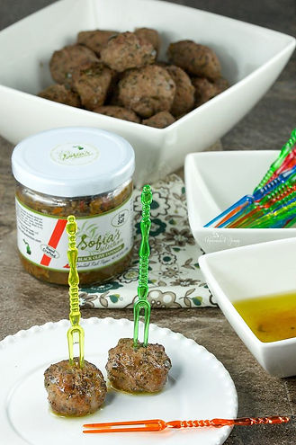 Olive Tapenade with Roasted Red Pepper
