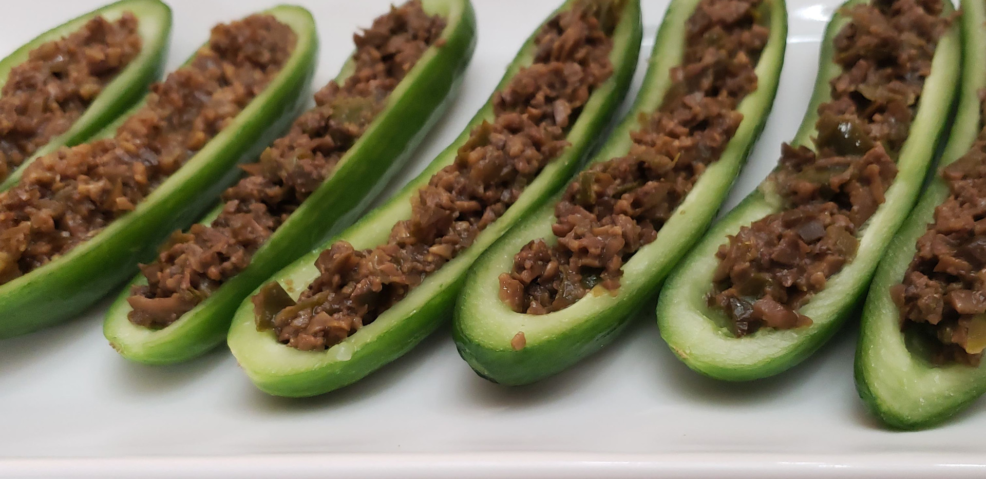Tapenade in cucumber boats 2019.jpg