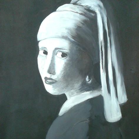 malba portrétu podle umělce