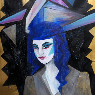fantazy portrét
