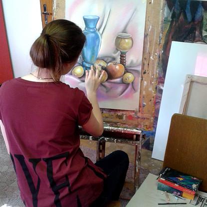 výtvarný kurz kresby a malby