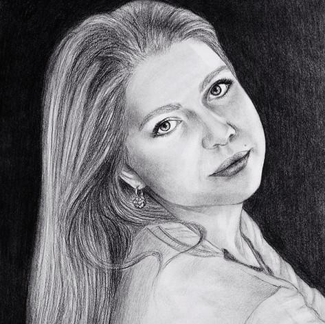 portrét podle fotky