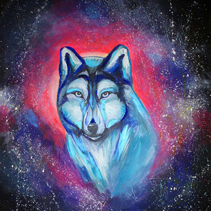obraz vlka