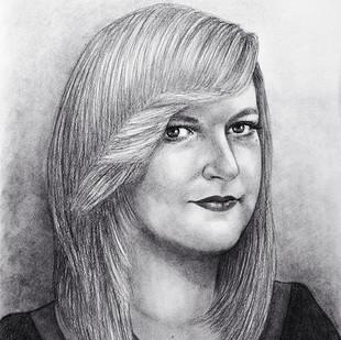 kresba portrétu podle fotky