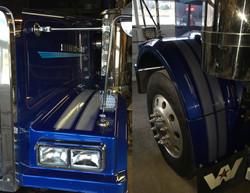 Bear Fuel Tractor Trailer Stripes