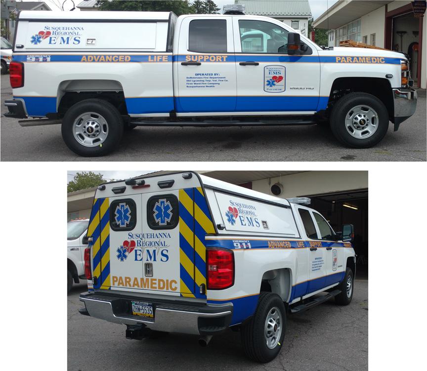 SHS 2016 Paramedic Truck